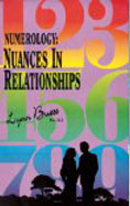numerology:nuances in relationshops book cover